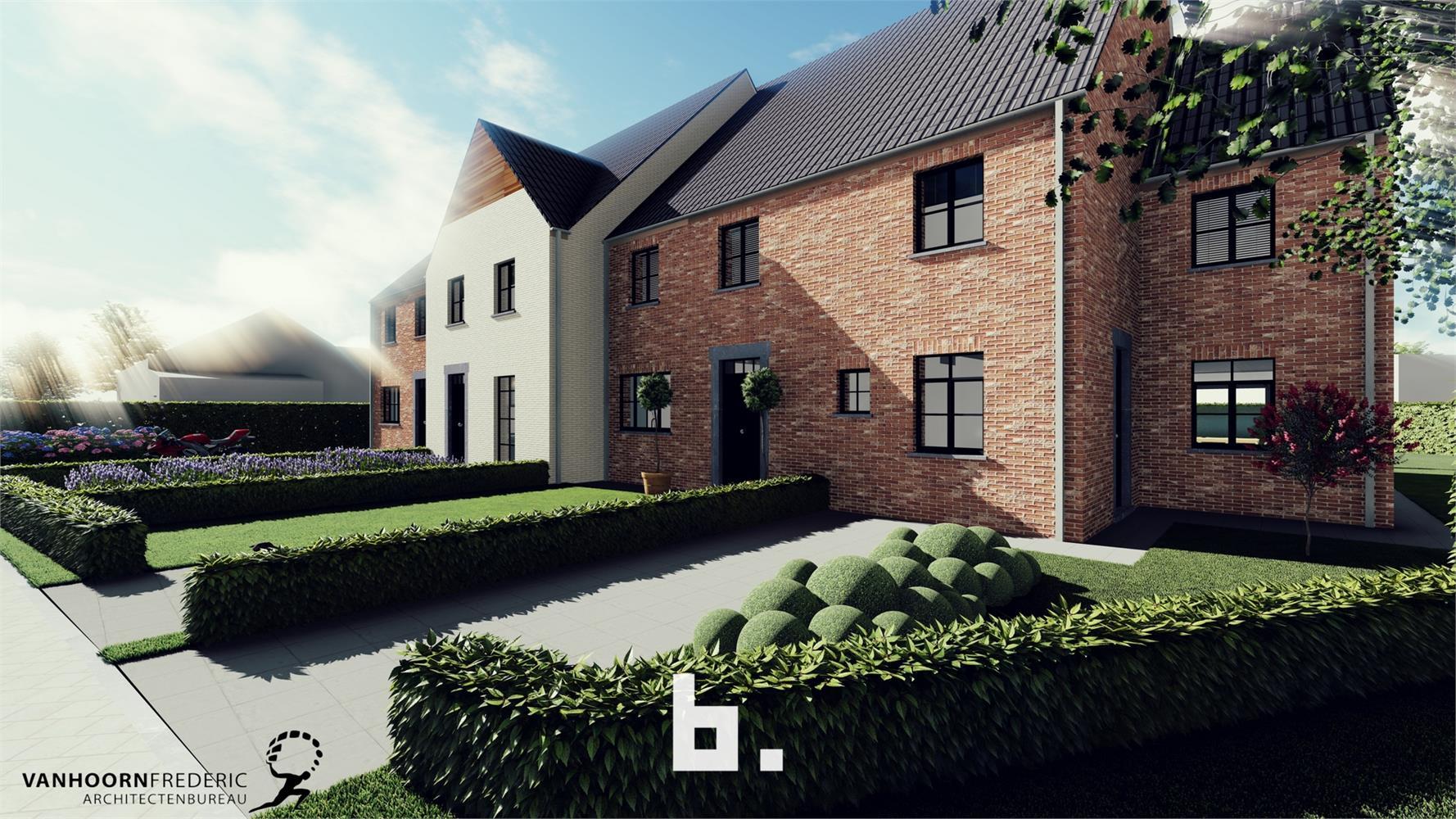 Verkaveling d' Oude Scheure - Traditionele nieuwbouw woningen in tijdloze pastoriestijl